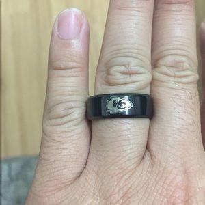 Jewelry - Black Kansas City Chiefs Ring